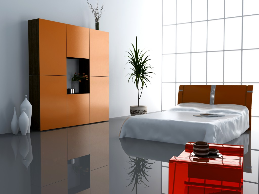 Modern Bedroom Interior Image