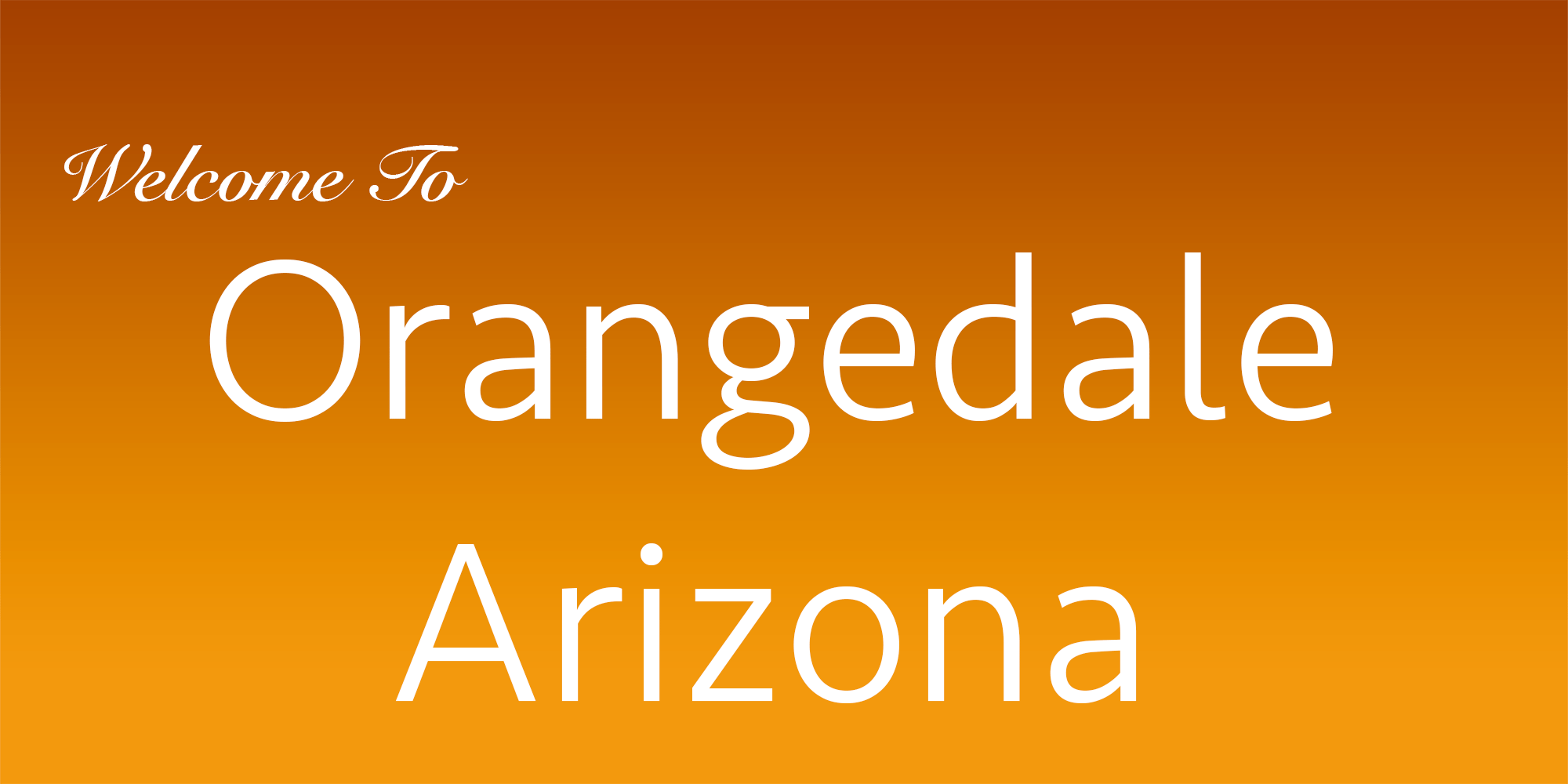 Orangedale Arizona Kevin Brent Realty One Group