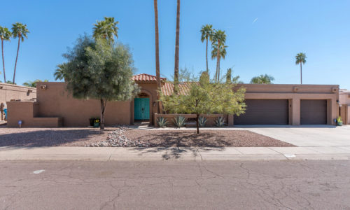 Recently Sold: 6107 E Le Marche Avenue  Scottsdale 85254